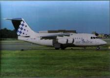 (wjv) Airplane Postcard: Air Baltic, Avro RJ70