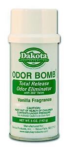 2 Pack Dakota Odour Bomb - Car Air Freshener, Odor Eliminator - Vanilla