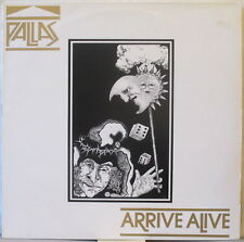 PALLAS Arrive Alive LP U.K. Prog Rock – on Cool King