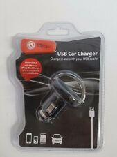 USB Car Charger Ultra-low Profile, 2 PCS ( X8249)