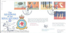 RAF FDC43 1996 Christmas RAF FDC signed CO 18 Chinook Sqn PULFORD