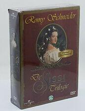 Sissi Trilogy Romy Schneider - 3 Dvd Box Set - New