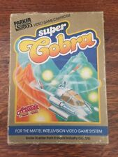 Intellivision Super Cobra Boxed With Instructions Gwo
