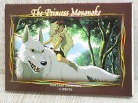 PRINCESS MONONOKE Postcard Art Book HAYAO MIYAZAKI Ghibli Ltd