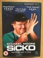 Sicko DVD 2007 Michael Moore American Healthcare Expose / Documentary Movie