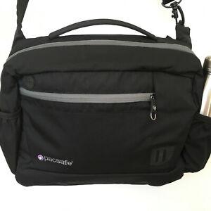 PacSafe Venturesafe 400 Anti Theft Carry On Shoulder Bag Travel Black Padded VGU