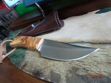 "MUELA CUTLERY ""THE ORIX"" 6 3/4"" OVERALL REALLY AWESOME KNIFE OLIVE WOOD HANDLE 4"