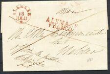ALKMAAR FRANCO+ALKMAAR, k 29 + 30 Av  OP OMSLAG - HELDER (POTLOOD 1831)  Ab475