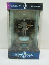 Star Trek Champions Fine Pewter Figure-Captain Kirk Limited Edition (Box Sd#9)