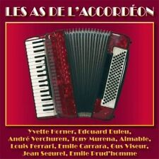 CD Les As de l'accordéon / Horner, Verchuren, Ségurel..