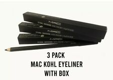 MAC Eyeliner Pencil Black/Smolder 3x PACK