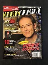 Modern Drummer Magazine March 2007 Vinnie Colaivta