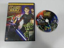 STAR WARS THE CLONE WARS TEMPORADA 1 VOLUMEN 1 - 5 EPISODIOS DVD + EXTRAS