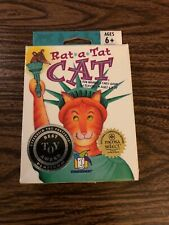 ) Rat A Tat Cat Card Game from Gamewright 2004