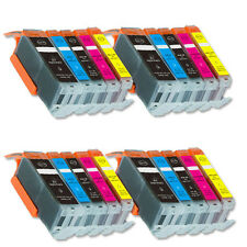 20 PK Printer Ink Set + chip fits Canon PGI-250 CLI-251 XL MX920 MX722 MG6420