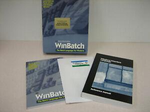 Vintage* Wilson WindowWare WINBATCH  Software- Compiler, Interpreter