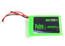 Pulse 7.4V 4000mAh 2S LiPo Battery TX Ultra Power for DX6 / DX7S / DX8 / DX9