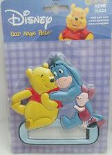 Sandylion, Disney Pooh & Friends Child's door Name Plate