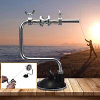Portable Fishing Line Winder Reel Spool Spooler System Tackle Aluminum Useful