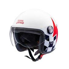 Open Face Helmet Motorbike Helmet (White Red Blue) Free Shipping