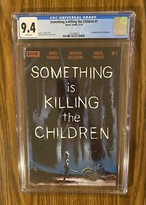 🔥 Something Is Killing The Children #1 - CGC 9.4 -1st Print 🔥 🔑.