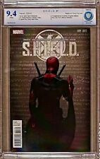 S.H.I.E.L.D. #1-CBCS 9.4 NM-Marvel 2015-Deadpool Party Variant