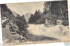 65 - CAUTERETS - Route du pont d'Espagne - Cascade du Pas de l'Ours ( i 4727)