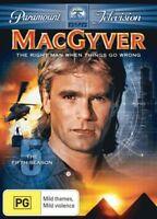 MACGYVER: SEASON 5 = TV Series = NEW DVD R4