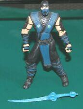 Mortal Kombat, Mortal Kombat 9 Action Figure, Sub-Zero, 4 Inches Loose Free ship