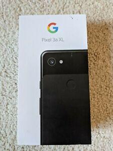 *BRAND NEW UNOPENED* Google Pixel 3a XL 64GB Black (Sprint Unlocked)