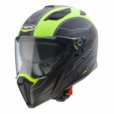 CASCO INTEGRALE CABERG JACKAL SUPRA - MATT YELLOW / ANTHRACITE / BLACK TAGLIA L