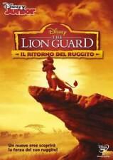 IL RE LEONE THE LION GUARD IL RITORNO DEL RUGGITO DVD NUOVO ITALIANO DISNEY