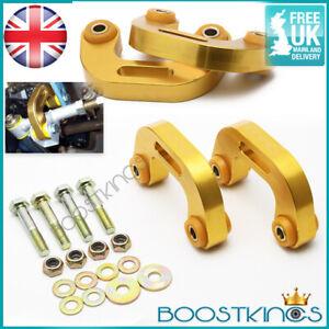 UPRATED Rear Alloy Anti Roll Bar ARB Drop Link fit SUBARU IMPREZA 93-07 WRX +STI