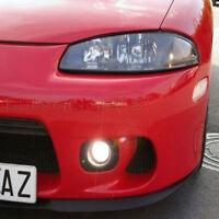 Xenon Halogen Fog Lamps Lights Kit For 1995-1999 Mitsubishi Eclipse