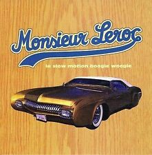 FREE US SHIP. on ANY 3+ CDs! NEW CD Monsieur Leroc: Le Slow Motion Boogie Woogie
