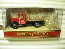 Matchbox Models of Yesteryear 1991 Y63A FARRAR 1939 Bedford K.D. Truck New Boxed