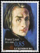 Luxemburg 2011 Frans Liszt  klassiek muziek    POSTFRIS/MNH