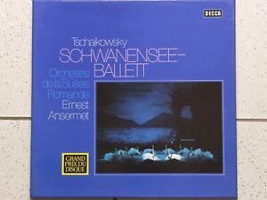 Tschaikowsky Schwanensee Ballett Orchestre de la Suisse Romande Ansermet - 2 LP