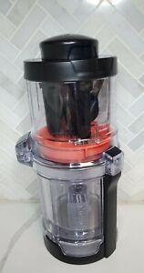 Ninja Precision Processor Model NN310 Spiralizer Attachment W/ Red Blade