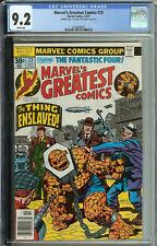 Marvel Greatest Comics # 73 CGC 9.2  WP Double Cover