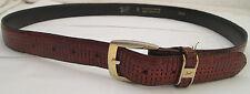 - AUTHENTIQUE  ceinture  TEXIER cuir  TBEG  vintage