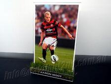 ✺Signed✺ AARON MOOY Photo & Frame PROOF COA Western Sydney Wanderers 2018 Jersey