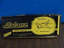 Airlane Wood Kit Grumman Bearcat (Early 10 Cent Kit)  INCOMPLETE
