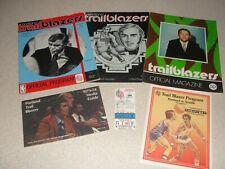 Vintage Portland Trail Blazer Programs and a Dave Twardzik autograph