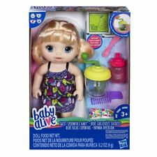 Baby Alive Sweet Spoonfuls Blonde Doll Girl Standard