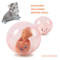 Interactive Cat Toy Hamster Balls Toys Pet Toy Electric Plush Toy Gift for Child