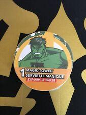 Incredible Hulk Magic Towel Washcloth