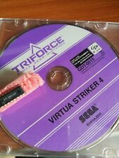 VIRTUA STRIKER 4 SEGA TRIFORCE JAMMA ARCADE GDROM GD ROM + DONGLE SECURITY CHIP