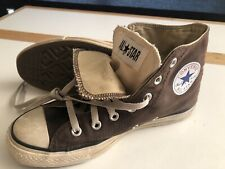 Converse All Star Brown Double Tongue High Tops Mens 6 (Womens 8) Eur 39