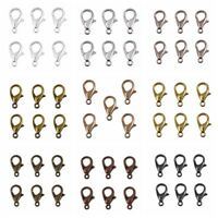 Lobster Claw Clasps 100pcs Alloy DIY Jewelry Fingdings Connector Necklace Chain
